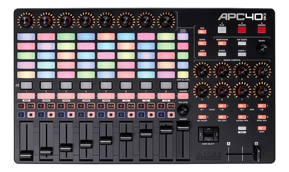 Akai Apc40 Mk2 Controlador Midi Usb Ableton Live . Loja Nfe