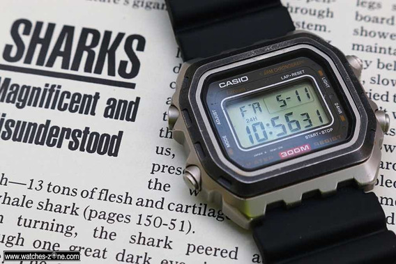 Casio Dw 3000c-1 Hd 300m Titânio Japan Raro