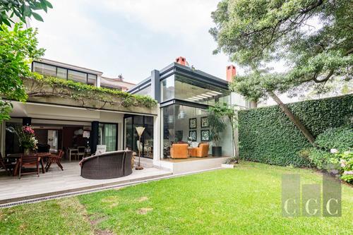 Mega Exclusivo Condominio Con Amenidades, Casa Venta Bosques