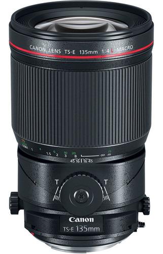 Imagem 1 de 6 de Lente Canon Ts-e 135mm F/4l Macro Tilt-shift - Sem Caixa