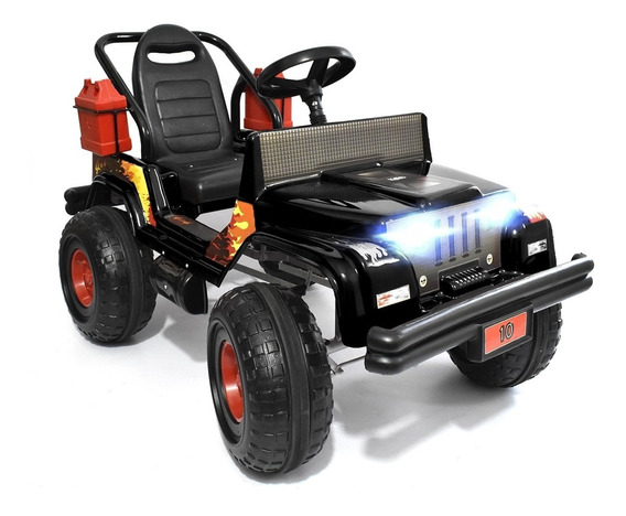 Karting A Pedal Auto Infantil Tipo Jeep Wrangler Mipong