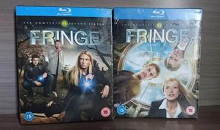 Blu Ray Box Fringe Temporadas 2 E 3 Com Português Inglaterra