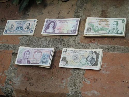 Imagen 1 de 7 de 182 Billetes De Colombia