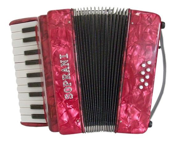 Acordeon A Piano Soprani Spgde Grande 8 Bajos