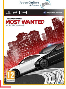 Need For Speed Most Wanted Psn Ps3 Mídia Digital Cod Jogo