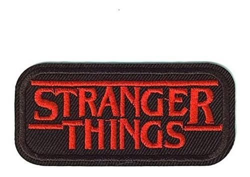 Punpunia - Parche Logo Bordado Stranger Things