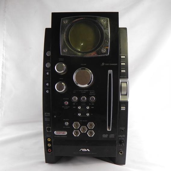 Mini System Reciver Aiwa Cx-bk7 Raro - Usado C/ Defeito