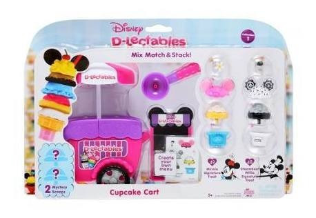 Dlectables Carrito Cupcake Mickey Minnie Accesorios