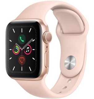 Apple Watch Series 5 Gps 40mm Gold, Pink Sand 12x S/juros