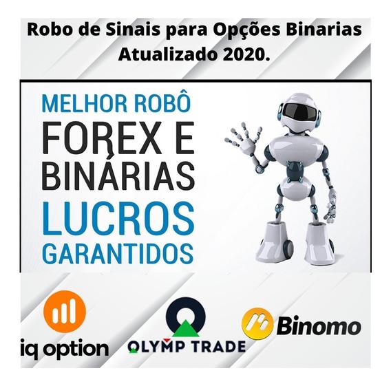 Bot De Sinais Para Opções Binarias E Forex Iq Option E Olymp
