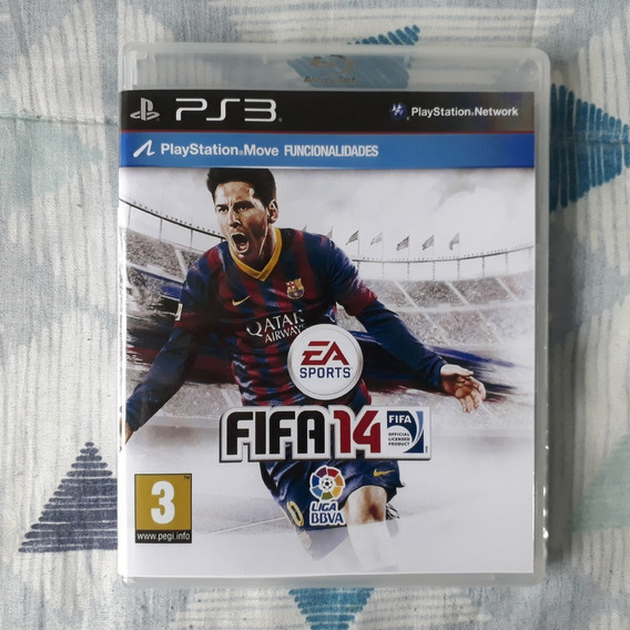 Playstation 3 - Fifa 14 - Legendado E Dublado Em Português