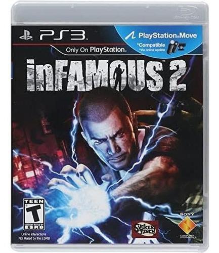 Jogo Infamous 2 Playstation 3 Ps3 Mídia Física Original Nf