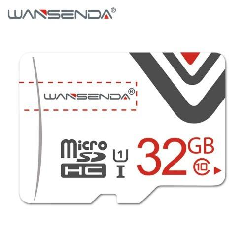 Cartão De Memoria Wansenda 32gb Classe 10 + Adaptador
