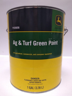 Pintura Verde John Deere Galon, Num. Ty25656, Nueva Original