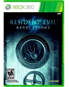 Resident Evil Revelations Xbox 360 Mídia Física Envio 12,00