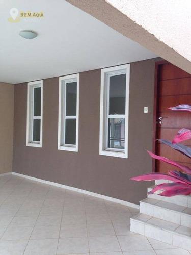 Imagem 1 de 11 de Casa Com 3 Dormitórios À Venda, 147 M² Por R$ 470.000,00 - Jardim Paulista - Itu/sp - Ca0727