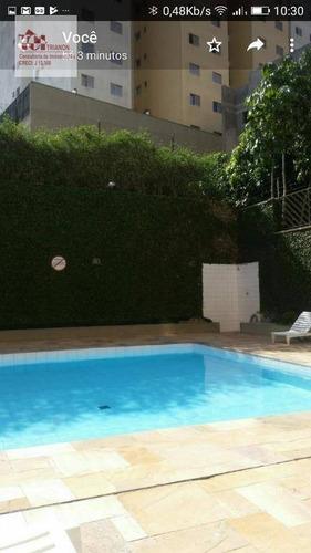 Apartamento Com 2 Dorms À Venda, 65 M² Por R$ 293.000 - Centro - Diadema/sp - Ap2596