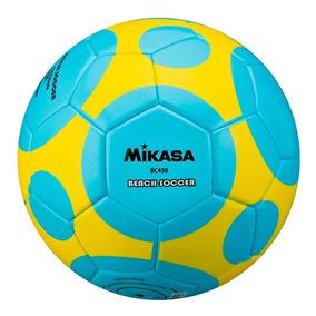 Bola De Futebol De Areia Bc450 Padrão Fifa Mikasa