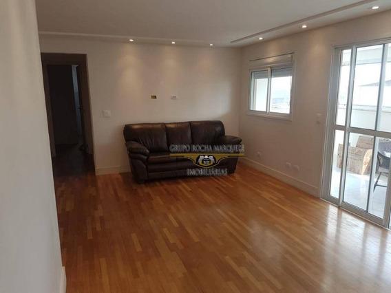 Apartamento Com 2 Dormitórios Para Alugar, 85 M² Por R$ 2.500,00/mês - Belém - São Paulo/sp - Ap2328