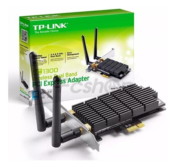 Adaptador Tp-link Archer T6e Ac1300 Dual Band Wifi
