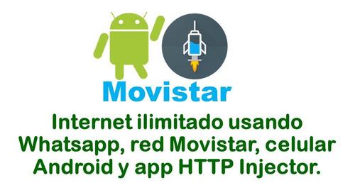 Imagen 1 de 3 de Internet Ilimitado Movistar Usando Vpn De Alta Velocidad.