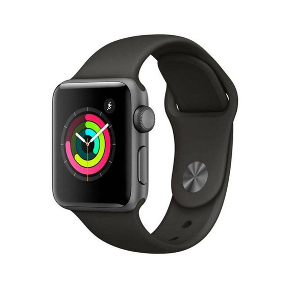 Apple Watch Serie 3 38 Mm Mr352ll/a A1858 - Space Gray/gray