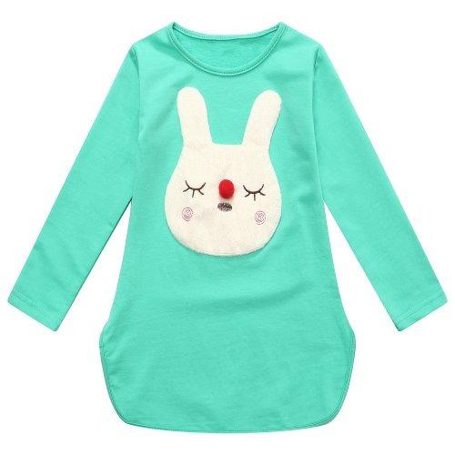 Richie Casa T Clásico T Niñas Con Una Cabeza Conejo Tamaño 2