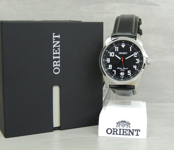 Relógio Orient Quartz Pulseira De Couro