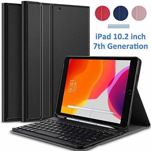 Funda Para Tablet Con Teclado Para iPad 10.2 A2197 Rosado