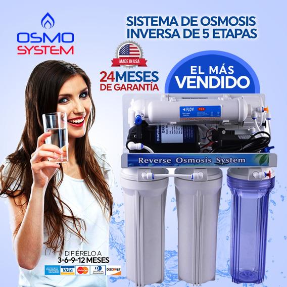 Purificador Agua Osmosis Inversa-5 Etapa Incluye Bomba