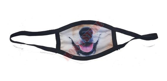 Cubreboca Kawaii Boca De Perro Dog Mascota