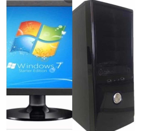 Computador Completo I3 4gb Ram Hd 500wifi Monitor 19