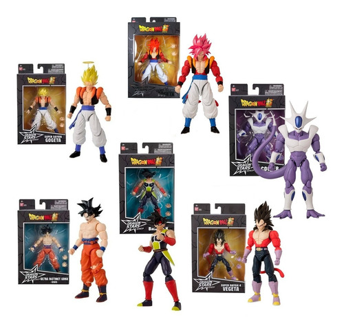 Dragon Ball Super Stars Series Figura Legendaria Bandai