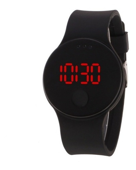 6 Color Luxury Men Waterproof Led Sports Electronic Silicone
