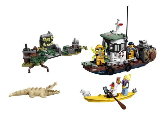 Lego Hidden Side - Barco De Pesca De Camarão Naufragado