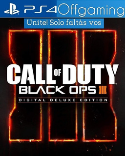 Call Of Duty Black Ops 3 Ps4 Digital 1º Deluxe + Cronicas!