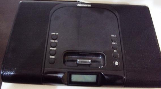 332 Prd- Memorex Sistema De Som Dock iPhone iPod Fm Funciona