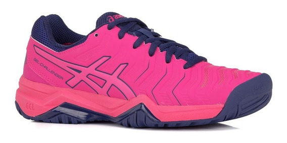 Tênis Asics Gel Challenger 11 Pink Para Todos Os Pisos
