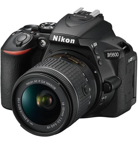 Nikon D5600 18-55vr 24.2 Mpx Lcd 3.2 Full Hd Wifi Bluetooth