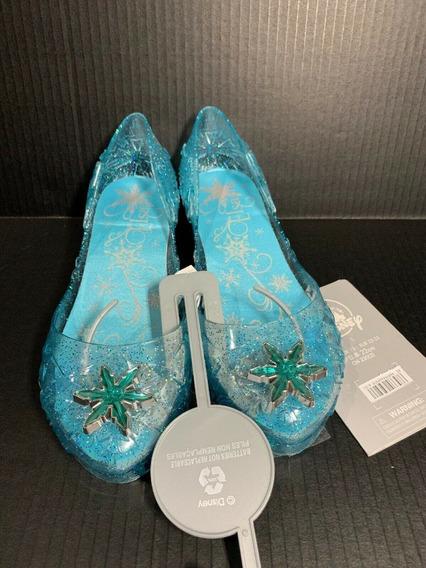 Sapato Princesa Elza C/luz Original Disney Store P/entrega