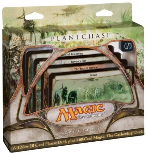 Magic The Gathering- Mtg: Planechase - Zombie Empire - Game