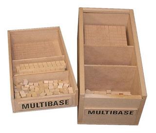 Multibase 150 Piezas En Caja De Fibrofacil