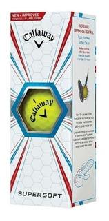 Kaddygolf Pelotas Golf Callaway Supersoft - Am X3