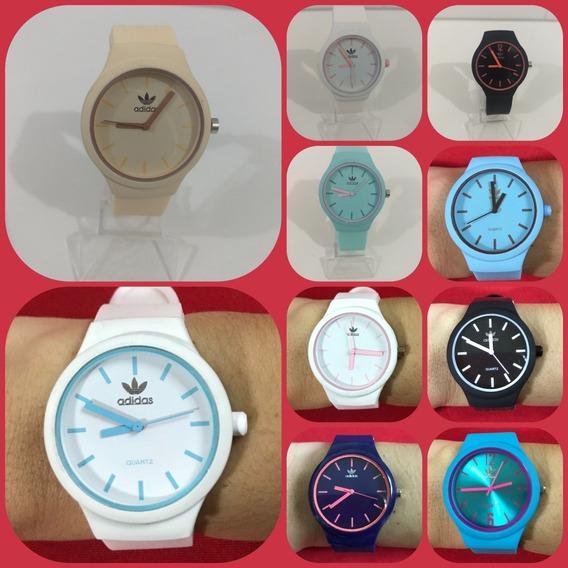 Kit Relógios Liso Atacado 10 Pcs Adid