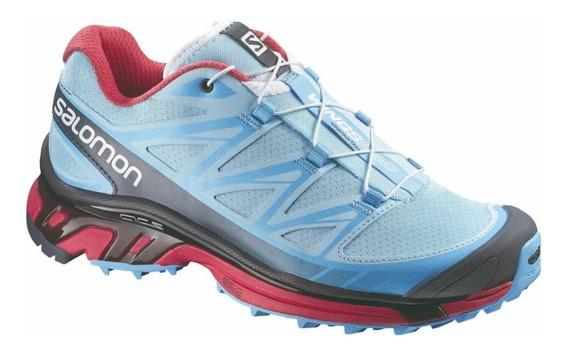 Zapas Salomon Wings Pro Mujer - Trail Running - Salas
