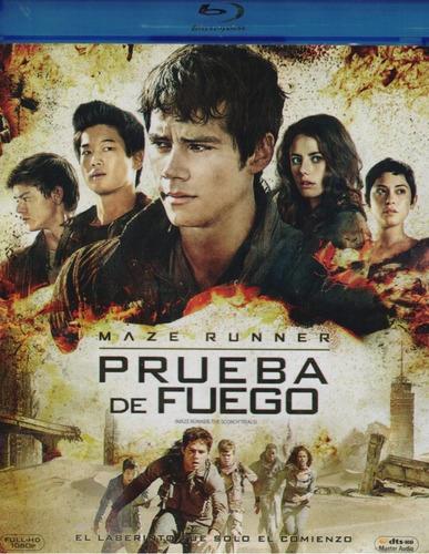 Maze Runner Prueba De Fuego Scorch Trials Pelicula Blu-ray