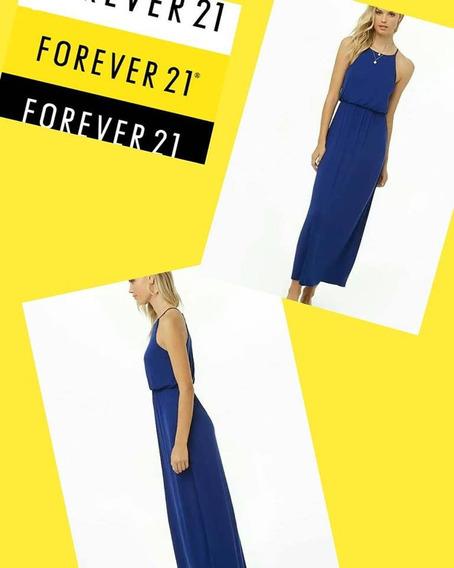 Vestido Forever 21 Largo Original Importado.