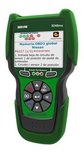 Imagen 1 de 6 de Innova 3240mx Scanner Automotriz Con Funciones Especiales