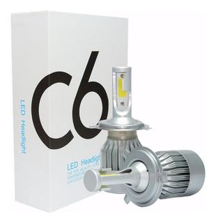 Luces Led C6 Bombillo Carros Luz Hid 72w/7600lm H4/h13/9007