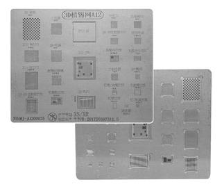 Stencil 3d Kaisi A12 iPhone Xs / Xr